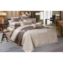 Customized hotel pure cotton bedding textiles sets
